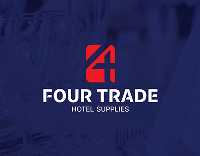 FOUR TRADE LOGO & BRANDIDENTITY