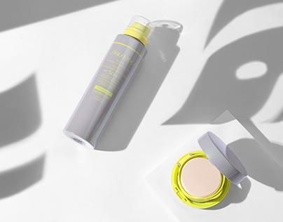 Product photos /Shiseido, Carita/