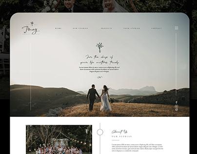 J'may Wedding & Event Web Design