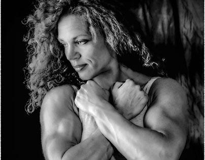 Riscoll Monika swedish body-builder