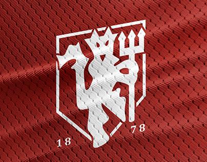 Manchester United logo rebrand concept