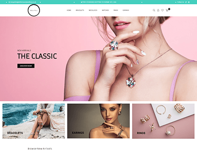 Shopify Jewellery Online Store
