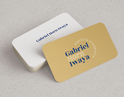 Identidade Visual | Gabriel Horn Iwaya [2021]