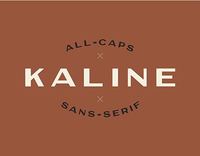 Kaline Font Family