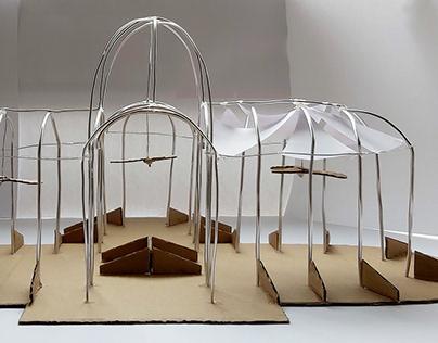Diseño de una exposición en el Palacio de Cristal