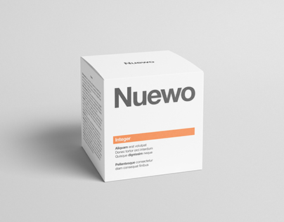 Box / Packaging Mock-Up - Square