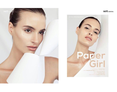 Paper Girl on iMute Magazine @imutemagazine