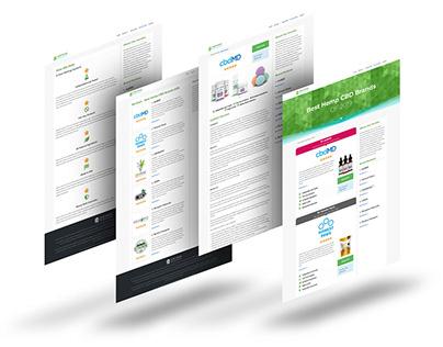 HempBrandReviews.com Web Design