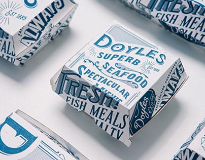 Doyles Seafood Brand Refresh