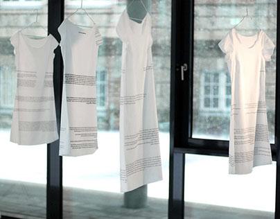 Memory dresses – installation