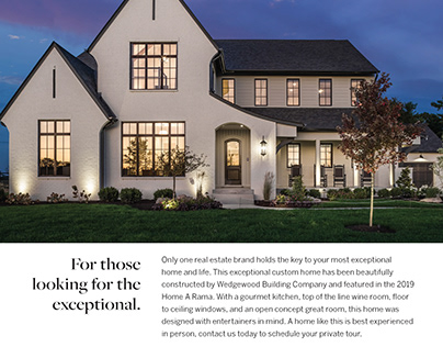 Pemberton of Zionsville Full Page Ad