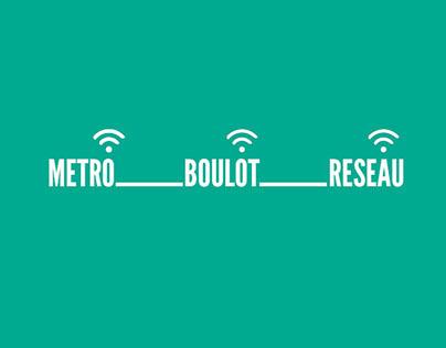 la Wifi dans le metro / RATP