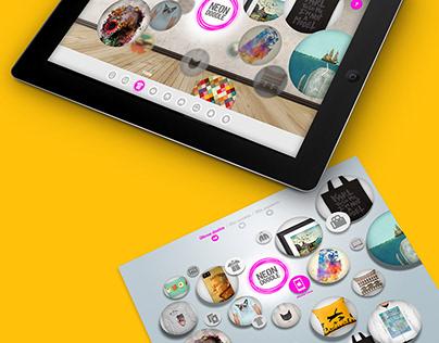 NewBranding UI Concept