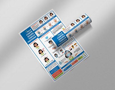 Infografía - Protocolo Sanitario Covid-19