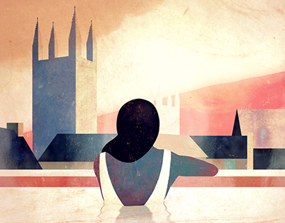 The Bath Magazine - Cover Illustration