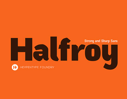Halfroy Typeface