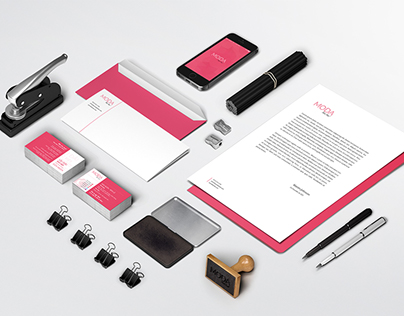 Moda - Branding & Website