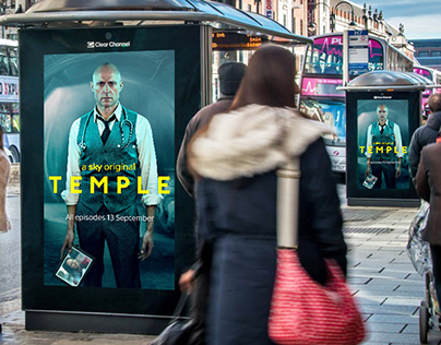 TEMPLE OOH, STATION TAKEOVER