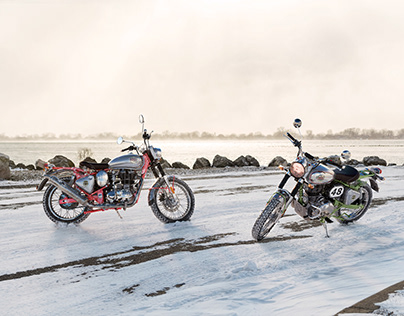 Royal Enfield Bullet Trials CGI