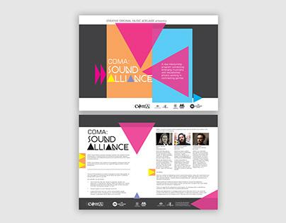 COMA Emerging Artist Poster/Brochure (COPY)