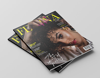 Femina Magazine Cover Design