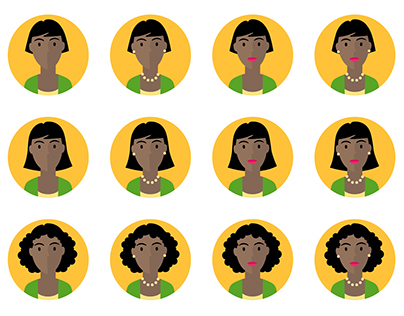 Profilbild-Avatare