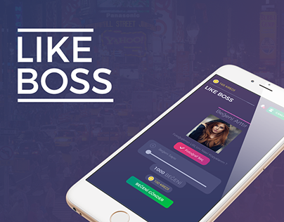 Like Boss Mobile App Design
