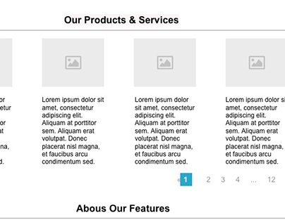 Low Fidelity Responsive Site Design. Using UXPIN.