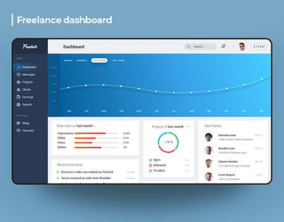 Freelance Platform - Design Concept