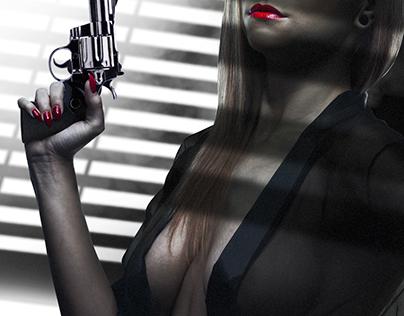 Hollywood poster by Gary Ljamin