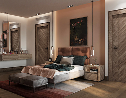 Bedroom-Stand Alone Villa (Mirage City)