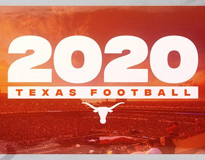2020 Texas Football Content