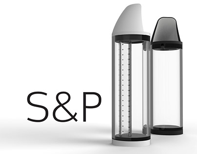 S&P- A little more functional salt and pepper shaker.