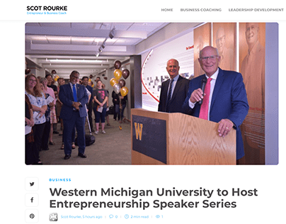 WMU Entrepreneurship Series