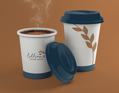 Lilliam's Coffee House - Hypothetical Branding