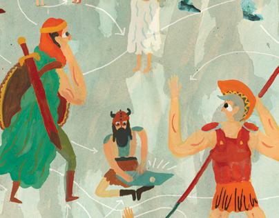 Social Networks in Mythology - NYT