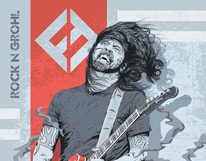 Foo Fighters - Dave Grohl: Fan Art
