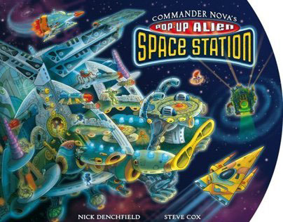 Commander Nova's Pop-Up Alien Space Station