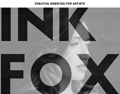 Homepage for Ink Fox