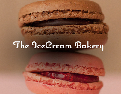 The IceCream Bakery - Website redesign