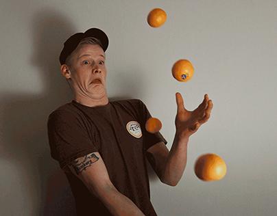 Throwing Fruit At My Friends - Ephemerality