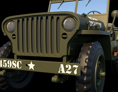 WWII Willys Jeep