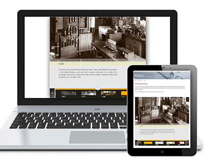 Interactive Historical Timeline