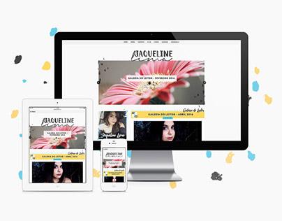 Jaqueline Lima (Responsive WP + Brand + Social Media)