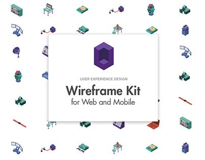 davinci project web wireframe - draft