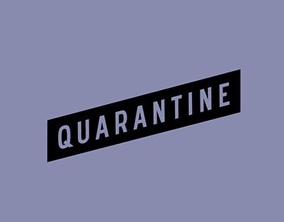 Quarantine Brand Identity