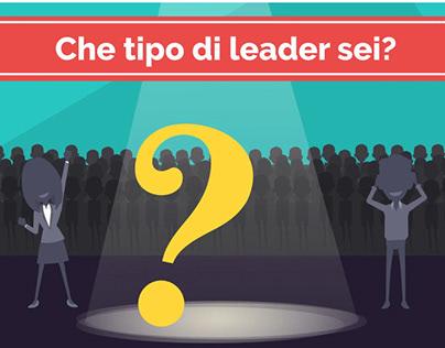 """Scenario decisionale: """"Che tipo di leader sei?"""""""