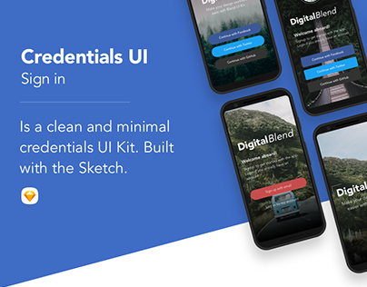 Credentials UI - Sign In