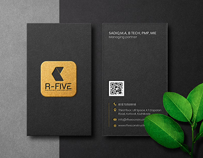 Business Card Designed for R-Five