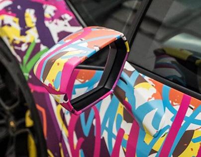 Graffiti Lamborghini Huracán